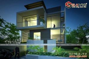 Biệt thự đậm chất hiện đại dễ dàng tích hợp nhà ở thông minh BT1609