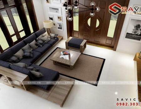 Đẹp không rời mắt với thiết kế nội thất biệt thự hiện đại NTB1501
