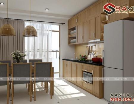 Thiết kế nội thất chung cư đẹp đơn giản hiện đại NTC1507