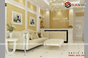 Thiết kế nội thất Spa đẹp và sang trọng bậc nhất NTV1507