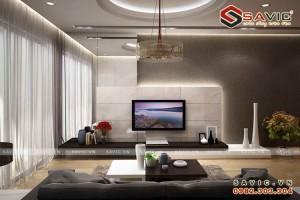 Thiết kế nội thất chung cư đẹp không gian hiện đại ấn tượng NTC1501