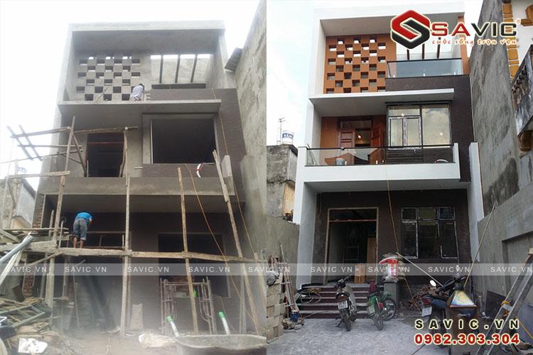 kiến trúc đang thi công và hoàn thiện NO1517