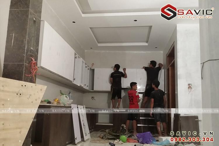 Thi công phòng bếp NO1517